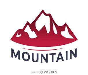 Mountain label logo template