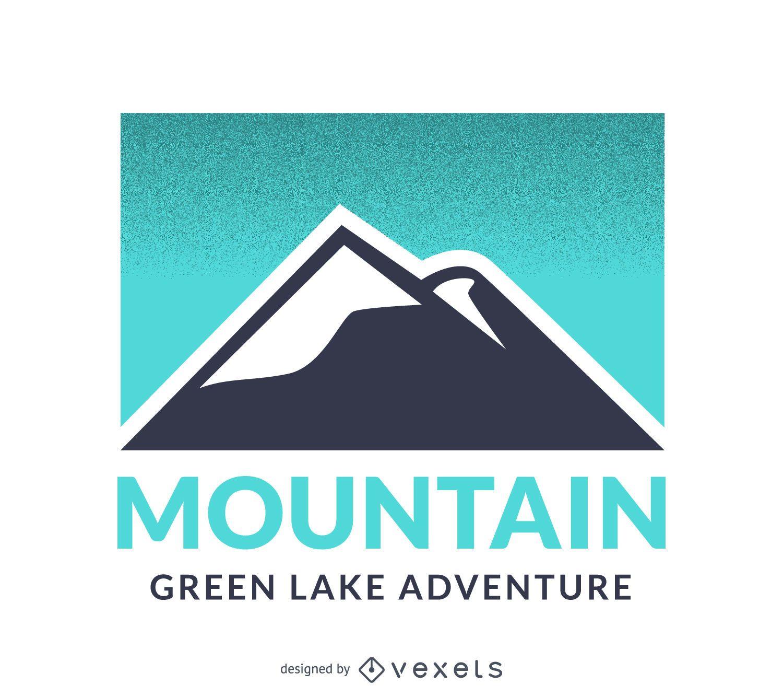 Mountain logo template design