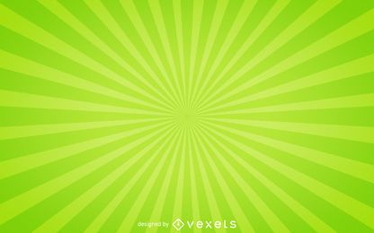 Starburst fondo verde
