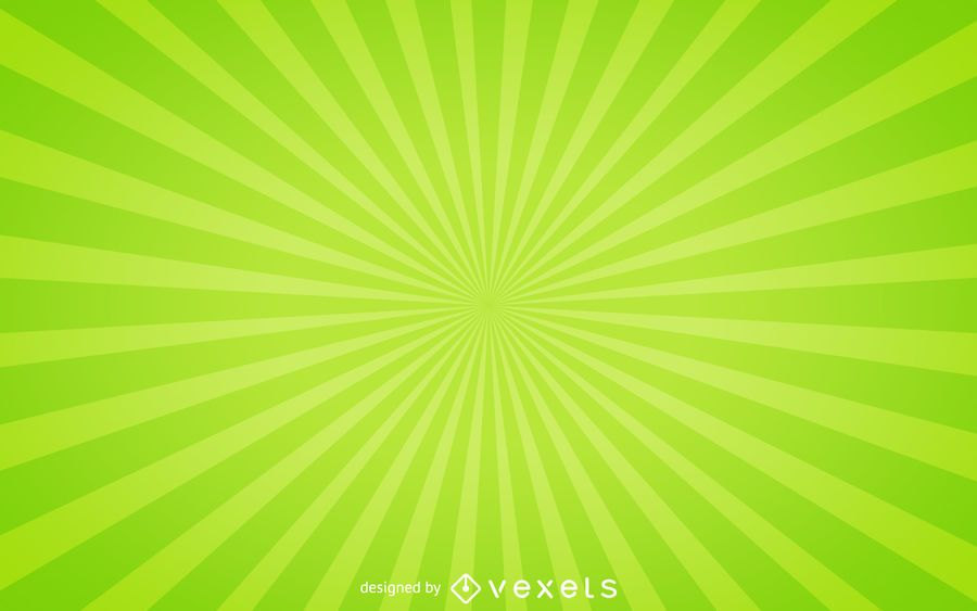 Green starburst background