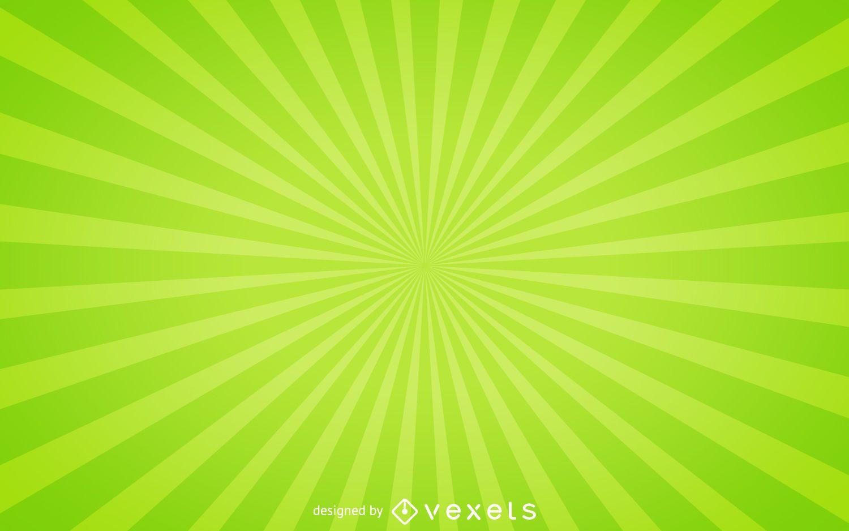 Fondo verde starburst