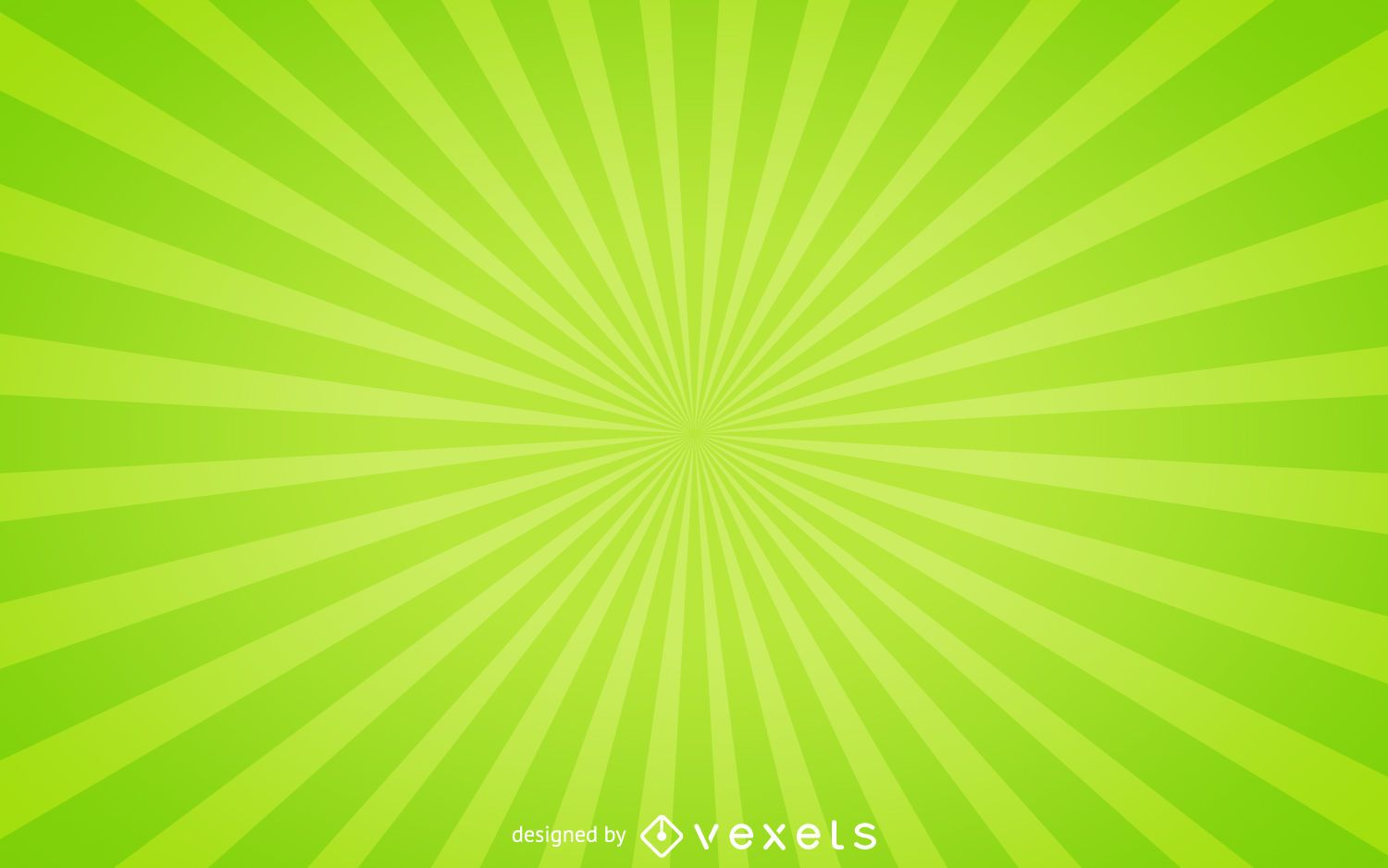 green sunburst background - photo #15