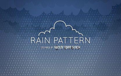 Diseño de patrón de lluvia