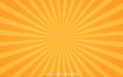 Starburst fondo en amarillo