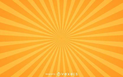 Starburst-Hintergrund in Gelb