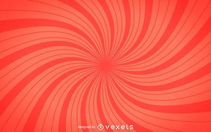 Fundo de starburst espiral vermelho