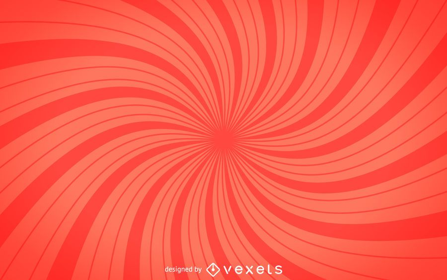 Red spiral starburst background