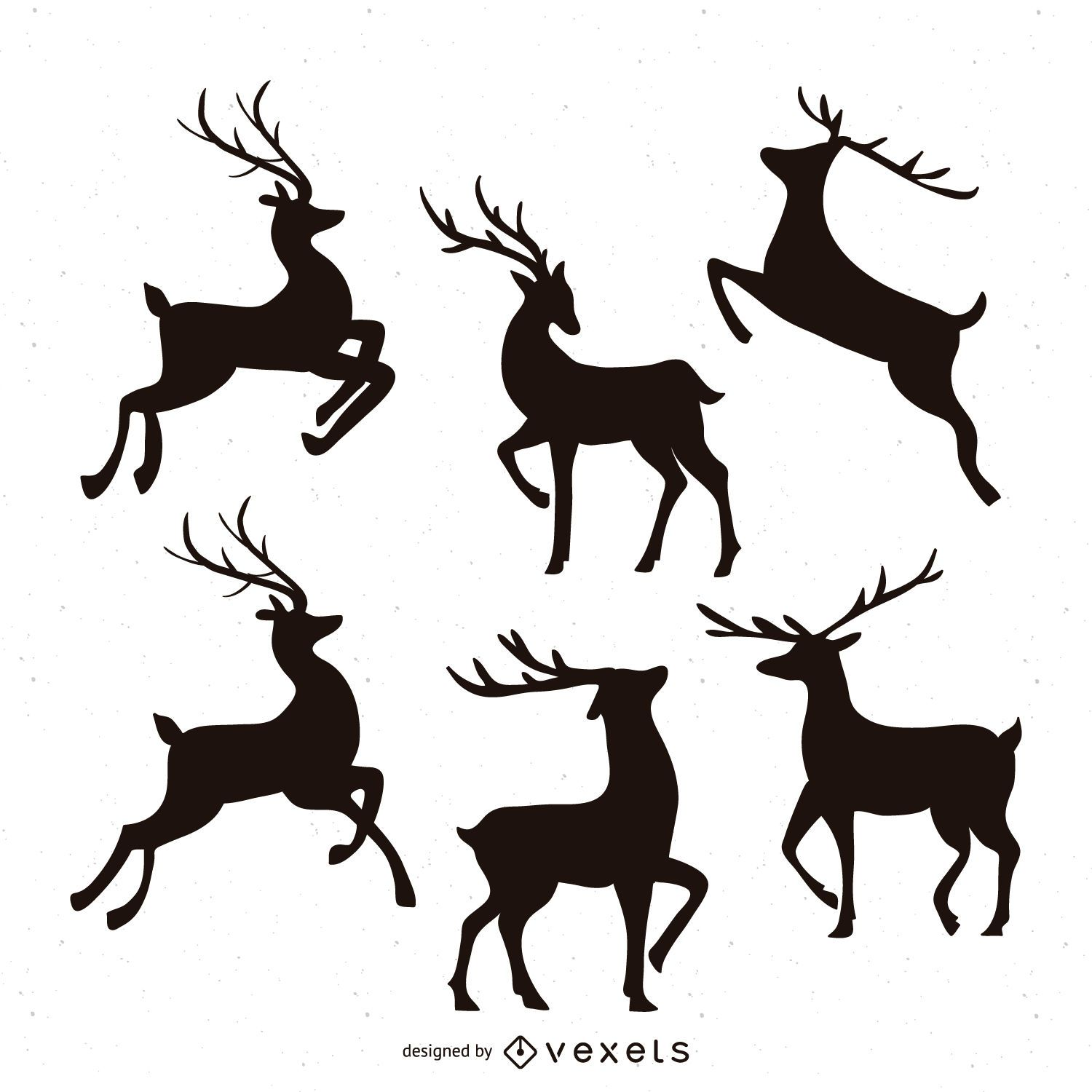 reindeer vector graphics to download rh vexels com reindeer vector free reindeer vector christmas