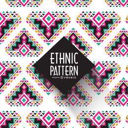 Patrón étnico geométrico
