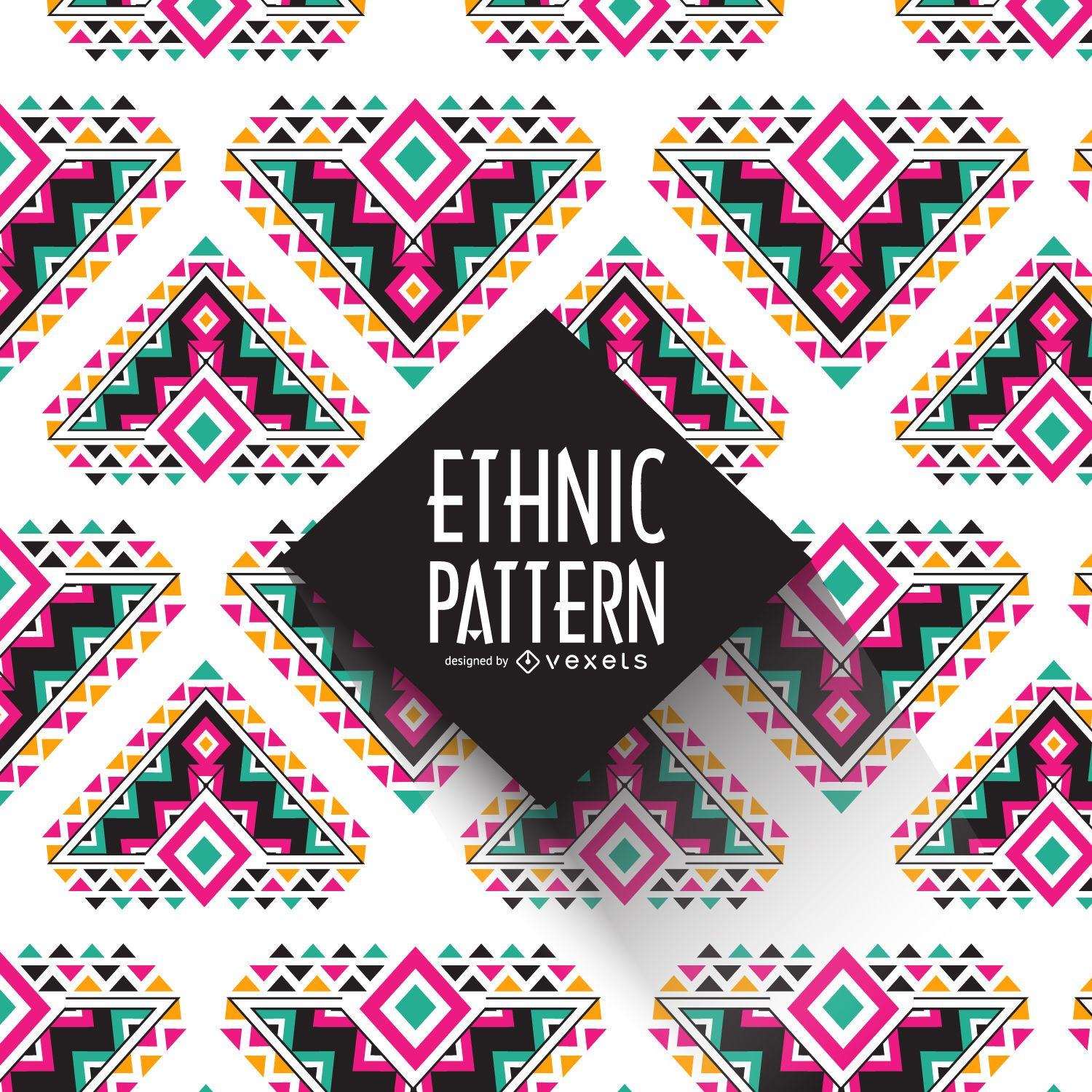 geometric ethnic pattern vector download