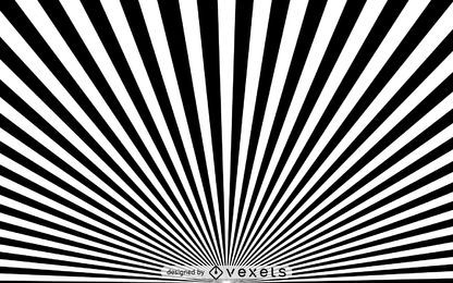 fundo preto e branco starburst