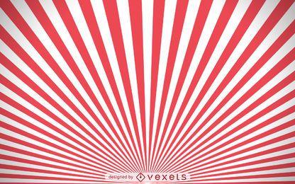 fundo vermelho e branco starburst