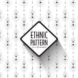 Diseño de patrones étnicos boho