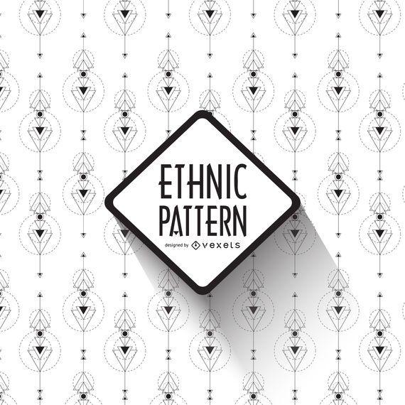 Boho ethnic pattern design