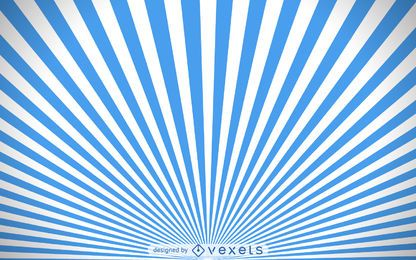 fundo azul e branco starburst