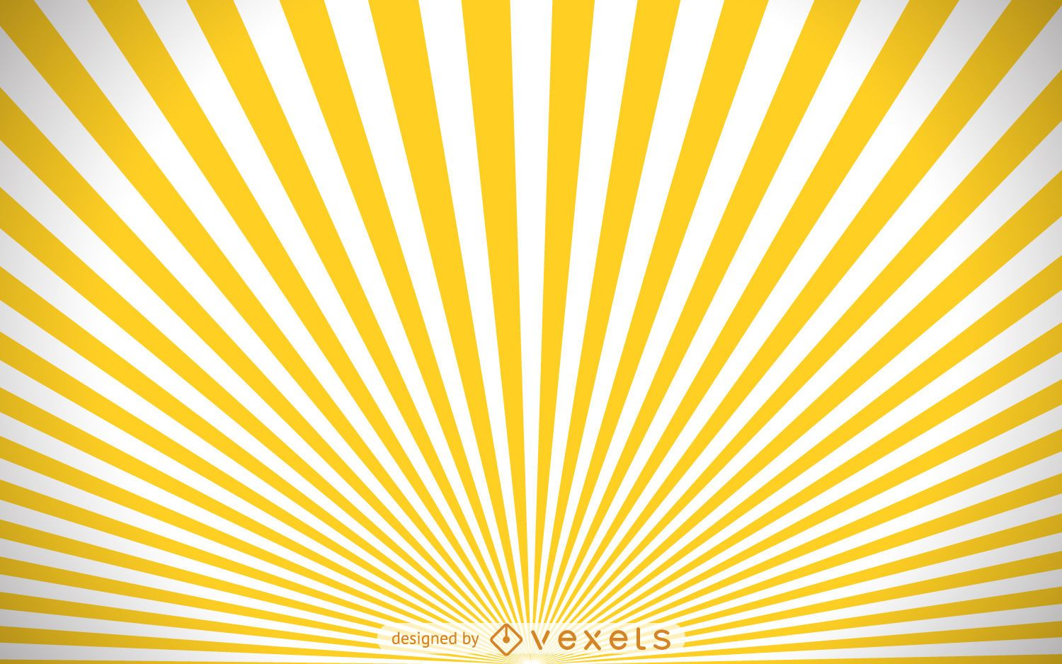 yellow and white starburst background vector download