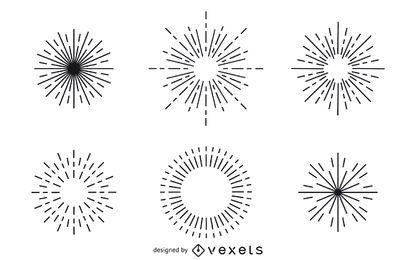 colección inconformista starburst de la vendimia