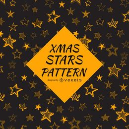 Sketched stars pattern