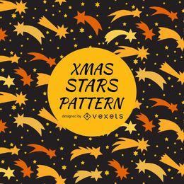 Diseño de patrón de estrellas fugaces