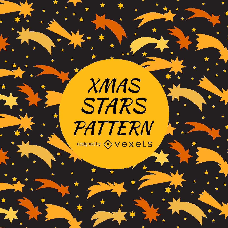 Shooting stars pattern design