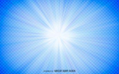 Transparente Sternexplosion