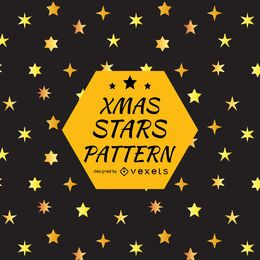 Star silhouette pattern design
