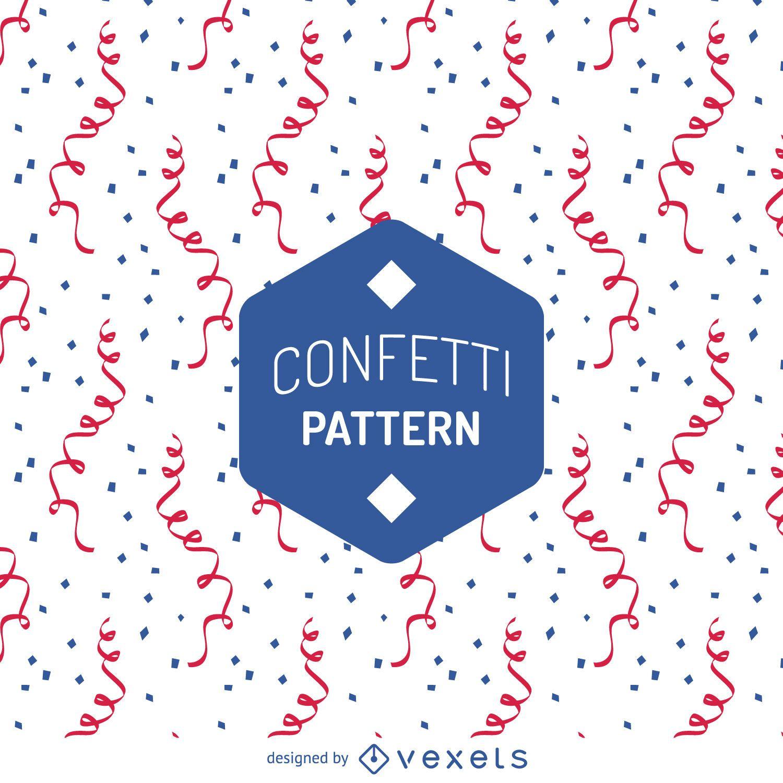 Flat confetti pattern