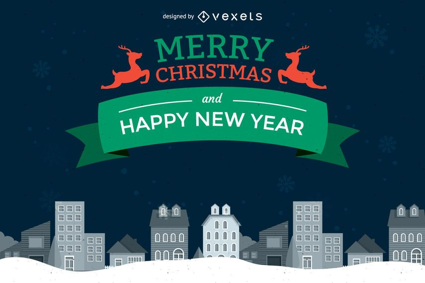 Christmas and New Year design