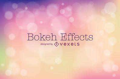 Bokeh-Hintergrunddesign