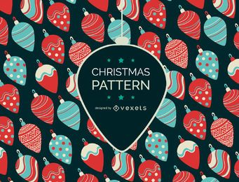 Christmas ornaments pattern design