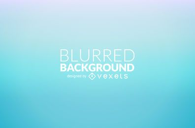 Blue gradient blur background