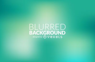 Green gradient blur background