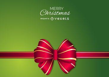 Fondo de arco de Navidad