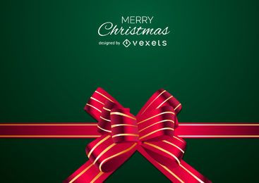 Diseño de fondo de arco de Navidad