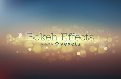 Blur bokeh background design