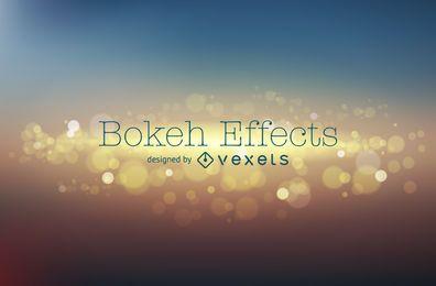 Diseño de fondo borroso bokeh