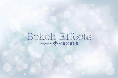 Silberner Bokeh-Hintergrund