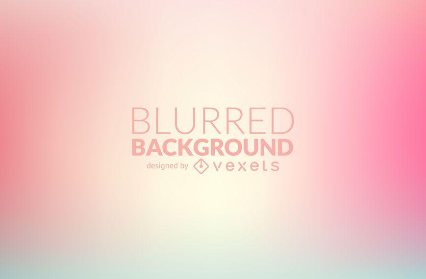 Pastel pink blurred background