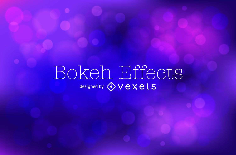 Blue purple bokeh background