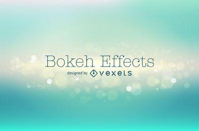 Telón de fondo verde bokeh