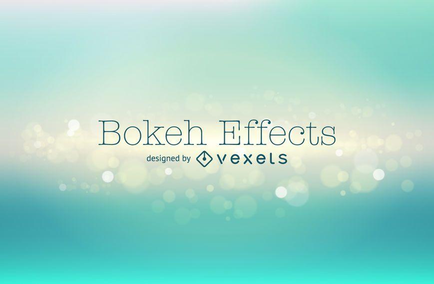 Green bokeh backdrop