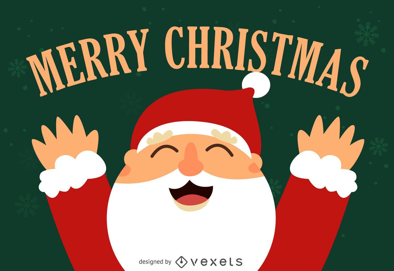 Projeto de ilustração do Papai Noel
