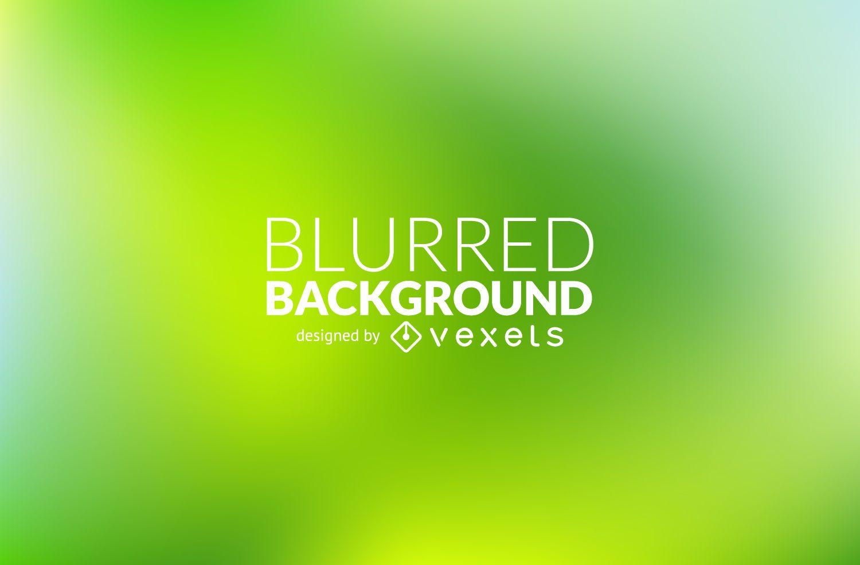 Bright green blurred background