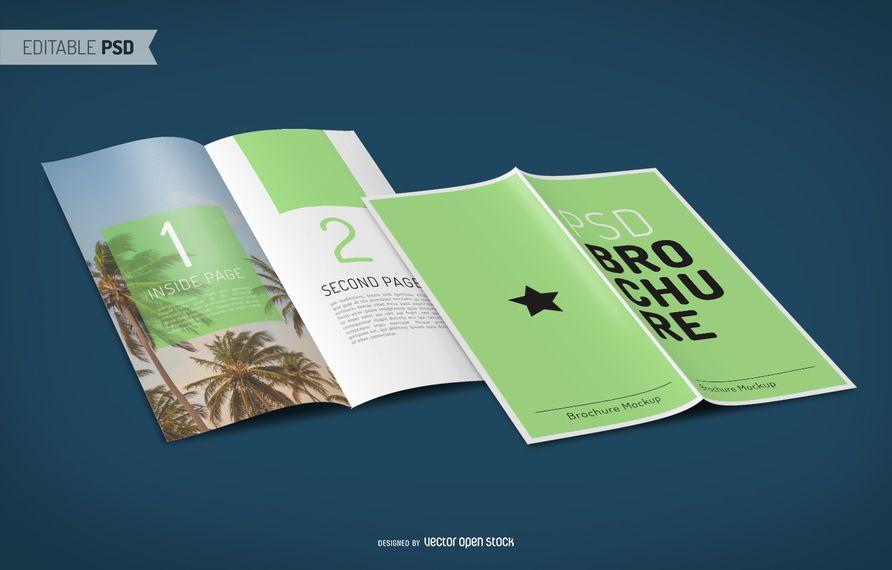 Brochura mockup PSD