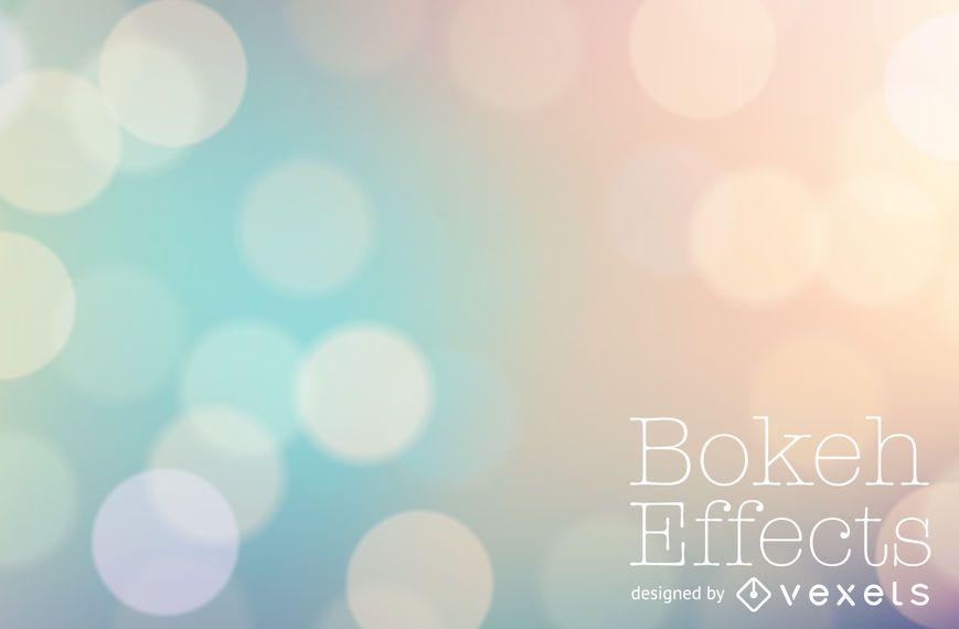 Pastel tones bokeh background
