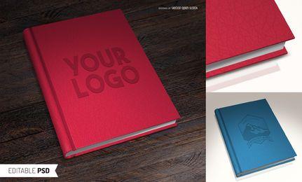 Maqueta de libro PSD