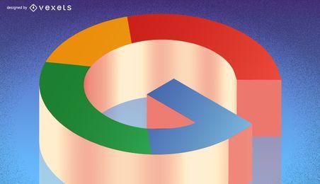 Google+ bandeira artigo cabeçalho
