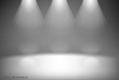 Studio lights backdrop design
