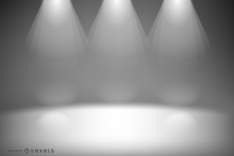 Studio lights backdrop design