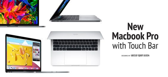 Macbook Pro Touch bandera barra